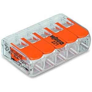 Svorka krabicová páčková WAGO 222-415 25 ks