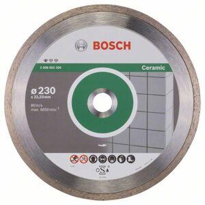 Diamantový rezací kotúč na keramiku Bosch DIA Standard for Ceramic, priemer 230 mm