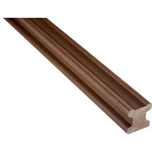 Drevoplastový nosič WPC WOODPLASTIC 50×50 mm (4m) hnedá