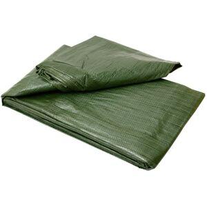 Zelená zakrývacia plachta štandard 3x4 m