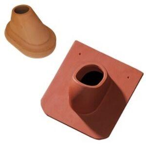 TONDACH Hladká Bobrovka okrúhly rez anténny keramický komplet prírodný