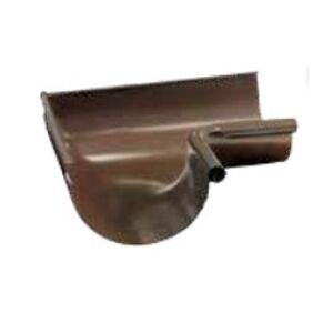BRAMAC vnútorný roh žlabu 90° š. 150 mm bridlicovočierny