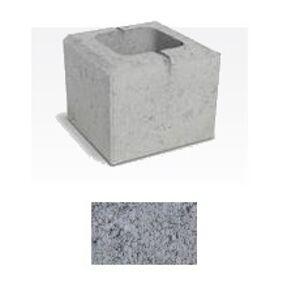 Polovičný prvok SEMMELROCK RIVAGO (20x20x16 cm) sivá