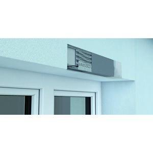 Okenný profil s okapničkou určený do nadpražia, dĺžky 2,5 m