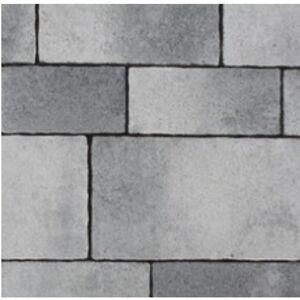 Veľkoplošná betónová dlažba PREMAC CASSETTA 8 cm, sivo-grafitová