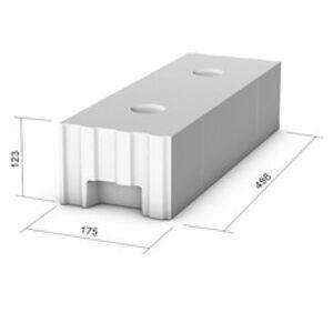 Vápenno-piesková tehla KMB SENDWIX 12DF-LD 1/2 (498x175x123 mm)