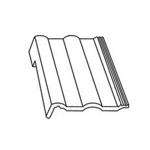 BRAMAC MAX 7° Protector rohová pultová ľavá škridla lávovočervená