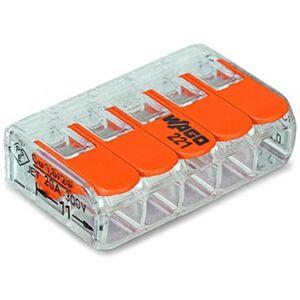 Svorka krabicová 5x4 mm2, WAGO 221-415