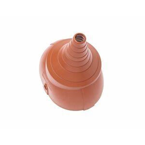BRAMAC PVC anténny nadstavec DuroVent červenohnedý