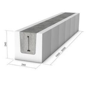 Vápenno-pieskový preklad KMB SENDWIX preklad 8DF 275 (2750x240x240 mm)