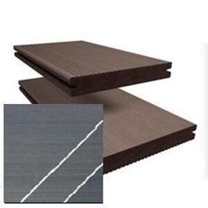 Terasová drevoplastová doska TWINSON Massive 140x20mm (6 m) 9360-510 bridlica