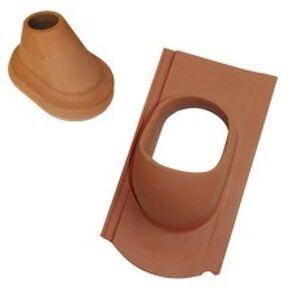 TONDACH drážková Bobrovka anténny keramický komplet čierny