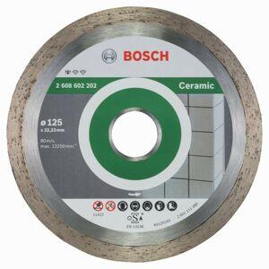 Diamantový rezací kotúč na keramiku Bosch DIA Standard for Ceramic, priemer 125 mm (1ks/obj)