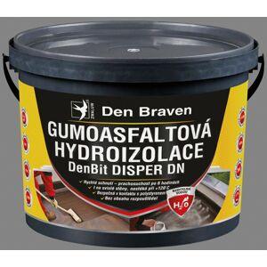 Gumoasfaltová hydroizolácia Den Braven DenBit DISPER DN, 10 kg
