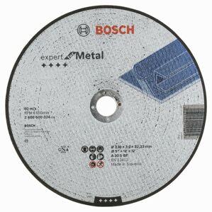 Rovný rezací kotúč na kov Bosch Expert for Metal, priemer 230 mm (25ks/obj)