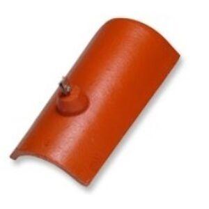 BRAMAC Protector hladký bleskozvodový hrebenáč gaštanovohnedý (set)