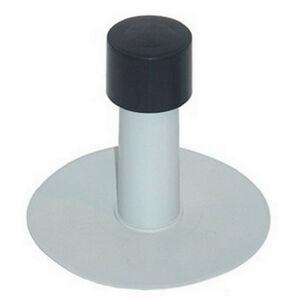 Vetrací komínok PVC 75/240 mm s krytkou (biely)